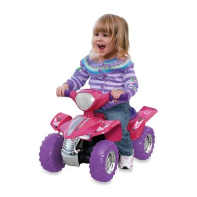 LIL Miss Quad Rider with Sound and Lights in Pink