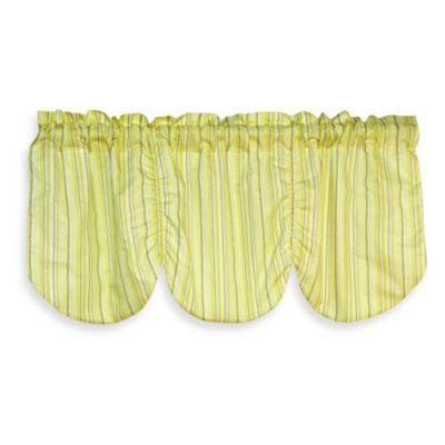 Laugh, Giggle & Smile Zen Garden Window Valance