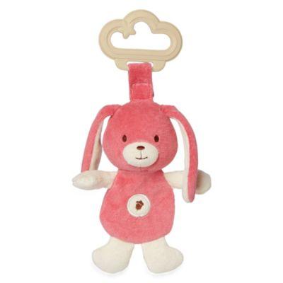 miYim® My Natural Sensory Teether > miYim® by Greenpoint Brands My Natural Sensory Pink Rabbit Teether