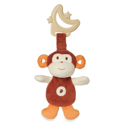miYim® My Natural Sensory Brown Monkey Teether