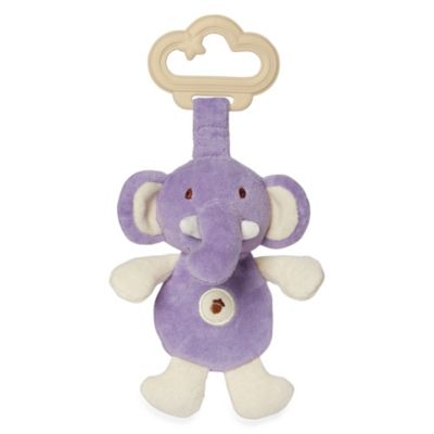 miYim® My Natural Sensory Purple Elephant Teether