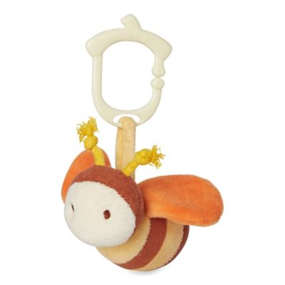 miYim® My Natural Clip N Go Bee Stroller Toy