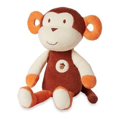 My Natural My First Cuddles by Greenpoint Brands 11- inch Plush Monkey