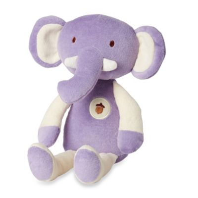 My Natural® My First Cuddles by Greenpoint Brands 11-Inch Plush Elephant in Purple
