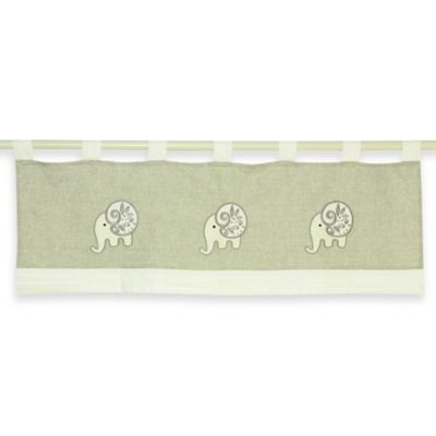 Taupe Multi Window Valance