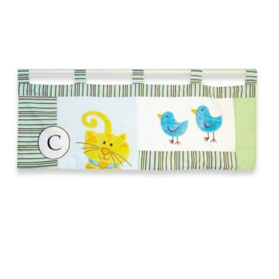 New Country Home Laugh, Giggle & Smile ABC Animal Friends Valance