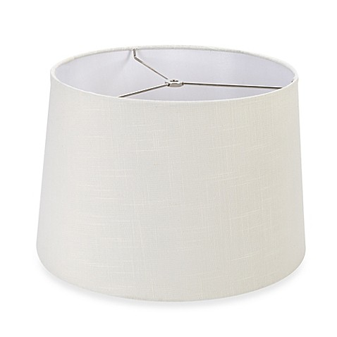 Mix match large 15 inch hardback drum lamp shade in off for Wide drum lamp shade
