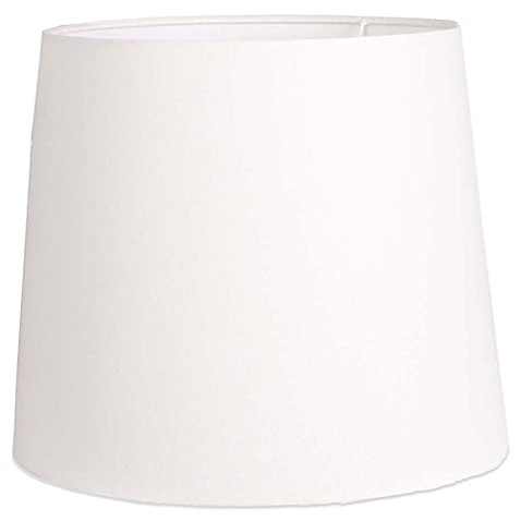 buy mix match large 15 inch hardback linen drum lamp shade in white. Black Bedroom Furniture Sets. Home Design Ideas