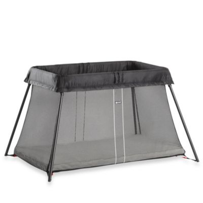 BABYBJORN® Travel Crib Light in Black