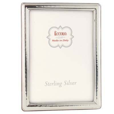 Eccolo™ Countess 8-Inch x 10-Inch Sterling Silver Picture Frame
