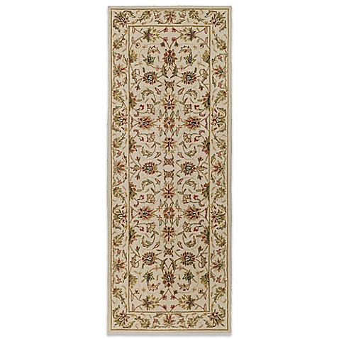 Safavieh Chelsea Collection Wool 2-Foot 6-Inch x 8-Foot Runner in Ivory