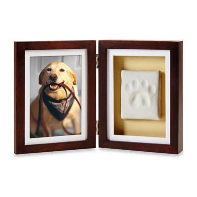 Pearhead Pawprints 4-Inch x 6-Inch Desk Frame
