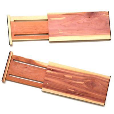 Cedar Mega Dresser Drawer Dividers (Set of 2)