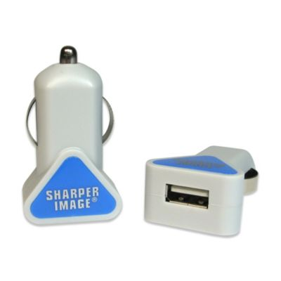 Sharper Image® USB Car Charger for Android in Blue