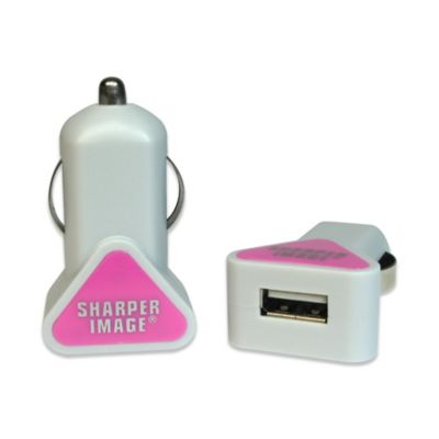 Sharper Image® USB Car Charger for Android in Pink