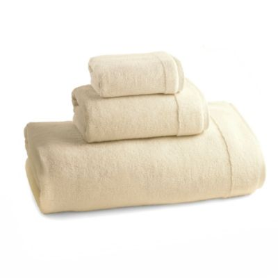 Kassatex Du Cap Collection Bath Towels in Blue Haze (Set of 3)