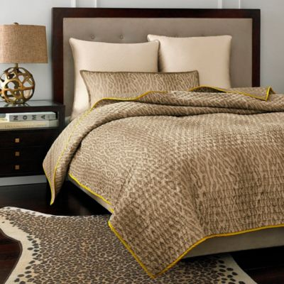 Vince Camuto Marseilles Full/Queen Cheetah Coverlet