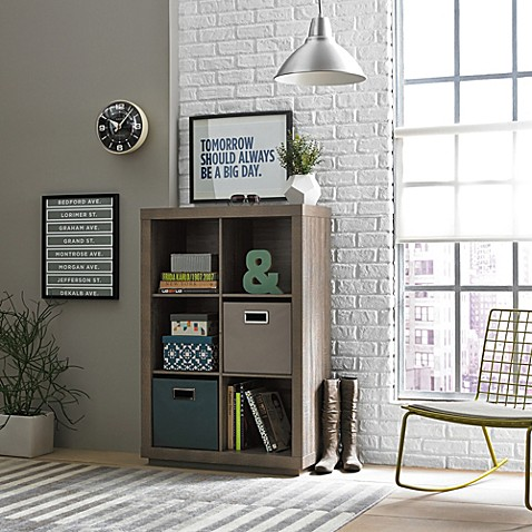 Kenneth cole reaction home 6 cube vertical organizer for Decor containers coles