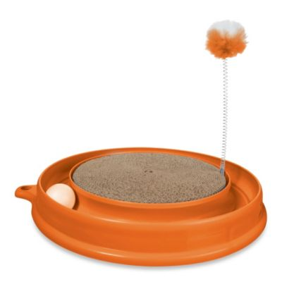 Catit® Play 'n Scratch Cat Toy in Orange