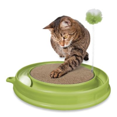 Catit® Play 'n Scratch Cat Toy in Green