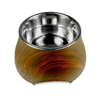 Dogit® Design Faux Wood Dish