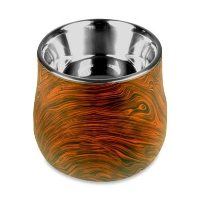 Dogit® Design Faux Wood Elevated Dish
