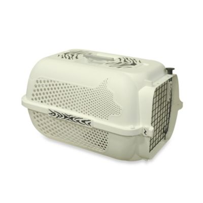 Dogit® White Tiger Voyageur Extra-Large Pet Carrier in White