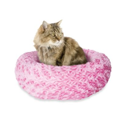 Catit® Style Extra-Small Donut Bed in Pink Rosebud