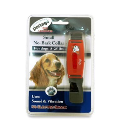 Pettags™ Small No-Bark Collar in Red