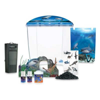 Marina Shark Aquarium Set