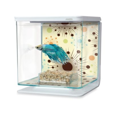 Marina Fireworks-Theme Betta Aquarium Kit