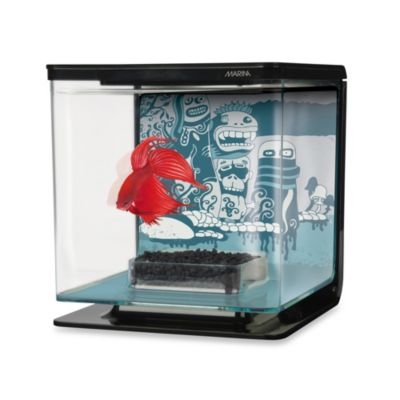 Marina Wild Things-Theme Betta Aquarium Kit
