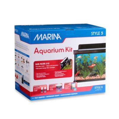 Marina Style 5-Gallon Glass Aquarium Kit