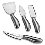 Stainless Steel Cheese Knives (Set of 4)
