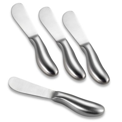 Stainless Steel Cheese Spreaders (Set of 4)