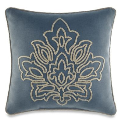 Croscill® Captain's Quarters Reversible Fashion Throw Pillow
