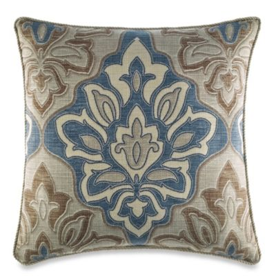 Croscill® Captain's Quarters Reversible Square Throw Pillow