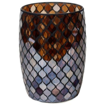 Buy mosaic bath accessories from bed bath beyond for Mosaic bath accessories