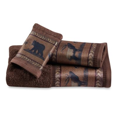 Croscill® Caribou Fingertip Towel