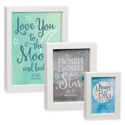White Wood Picture Frame