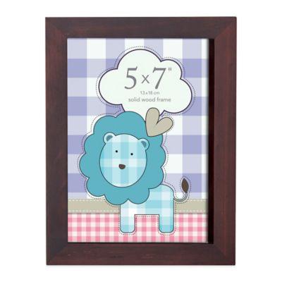 Prinz Soho 5-Inch x 7-Inch Wood Picture Frame in Espresso