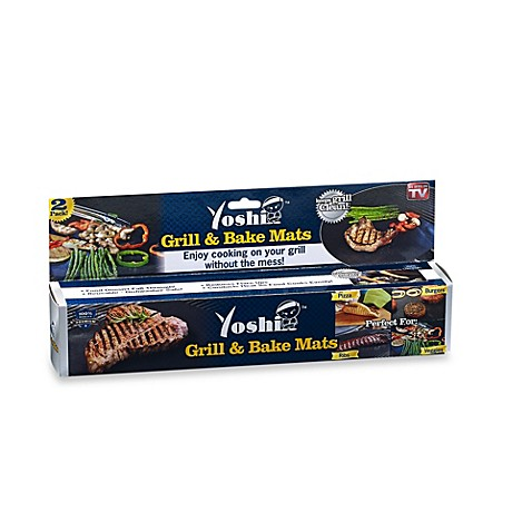 Yoshi 174 2 Piece Grill And Bake Mat Set Bed Bath Amp Beyond