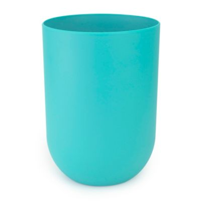 White Touch Wastebasket