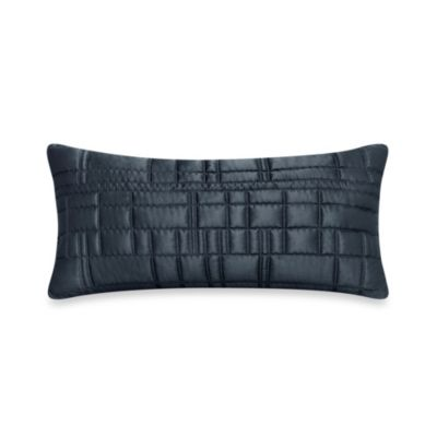 City Line Oblong Throw Pillow in Midnight