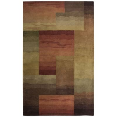 Rizzy Home Colours 3-Foot x 5-Foot Rug in Brown