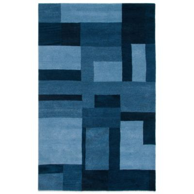 Colours 5-Foot x 8-Foot Rug in Blue