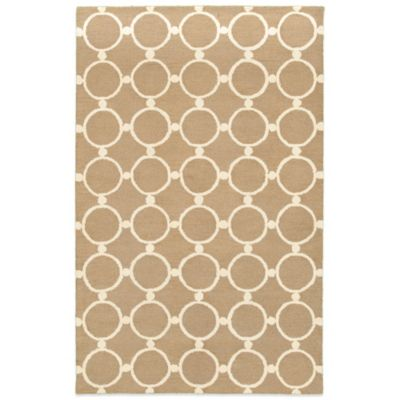 Rizzy Home Vicky Payne Collection Chain 8-Foot x 10-Foot Rug in Natural