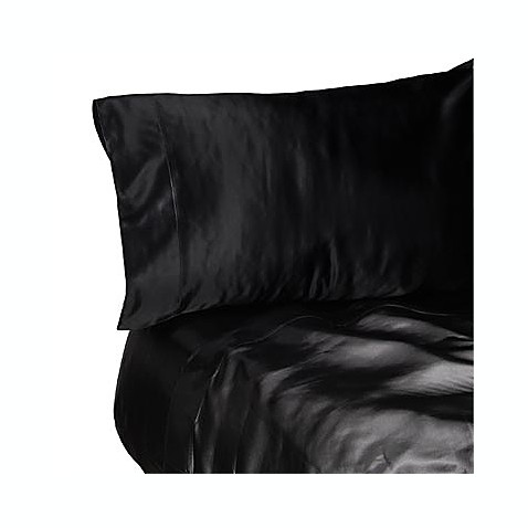 Satin extra deep queen sheet set bed bath beyond for Silk sheets queen bed bath beyond