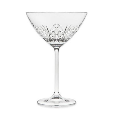 Godinger Dublin Reserve Crystal Martini Glasses (Set of 4)