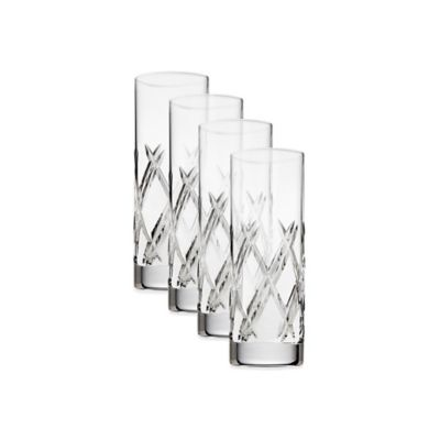 Top Shelf Bevel Crystal Shot Glasses (Set of 6)